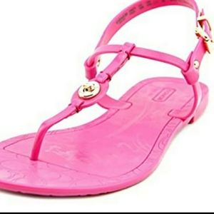 Coach Jelly Sandals Size 10